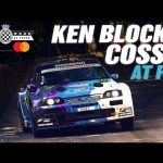 Crazy Ken Block Ford Escort RS Cosworth COSSIE onboard at FOS