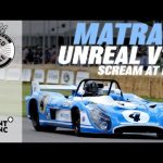 Screaming V12 Matra MS670B deafens the FOS crowd