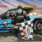 DiMatteo Collects First Stafford SK Modified Trophy