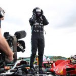 Drama at the British GP! Hamilton LIMPS across the line with a puncture and sparks flying to win at Silverstone after team-mate Bottas' suffers the same problem to sacrifice podium spot