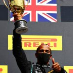 Lapping the entire pack up to third for his maiden win aged 23, ending a six-year drought in 2014 and breaking records in 2017... Lewis Hamilton is in SEVENTH heaven after latest victory at British Grand Prix