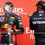 'We will keep a close eye on them': Lewis Hamilton is bracing himself for title fight with Red Bull's Max Verstappen after Dutchman wins 70th Anniversary Grand Prix at Silverstone