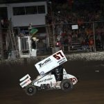22nd Win Keeps Larson Atop National Sprint Rankings