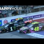 Teammates Tangle and Kevin Harvick Sweeps | NASCAR Cup Series From Sunday | Happy Hour