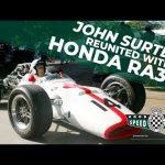 John Surtees' screaming V12 F1 Honda at FOS