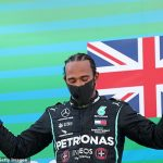 Lewis Hamilton overtakes Michael Schumacher at the top of the all-time list of F1 podiums with 156 top-three finishes after comfortable Spanish Grand Prix triumph