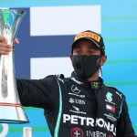 SCHU ON THE OTHER FOOT Lewis Hamilton overtakes Michael Schumacher with record 156th F1 podium after commanding Spanish GP win