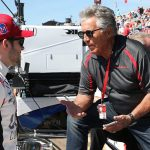 Mario Andretti Elated from Afar with Grandson Marco's Indy 500 Pole