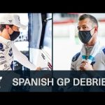 SPANISH GP DEBRIEF with PIERRE GASLY & DANIIL KVYAT