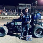 Quinton Benson Shines with POWRi WAR at Central Missouri Speedway