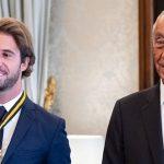 Antonio Felix da Costa honoured by Portuguese President Marcelo Rebelo de Sousa