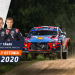Tänak flies to Estonia win despite late fright