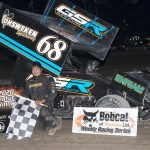 Turkey Trots To Merrittville Sprint Car Victory