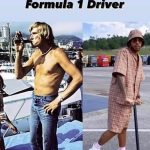 Kimi Raikkonen mocks Lewis Hamilton with 'evolution of an F1 driver' meme as he suggests six-time world champion is killing F1's rock'n'roll spirit... but he's still following in the footsteps of his idol James Hunt with a worse-for-wear throwback