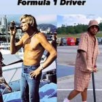 KIM TEASE Lewis Hamilton mocked by Kimi Raikkonen with 'evolution of a F1 driver' post alongside a worse-for-wear throwback snap