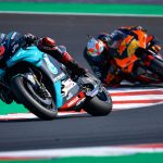 Why was Quartararo given a three-second penalty at Misano?