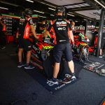Aprilia take part in private Barcelona test