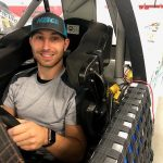 Kaz Grala In For Natalie Decker At Talladega