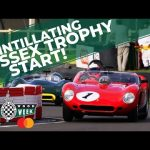 Ferraris, Lotuses and Listers fight in monstrous Goodwood race