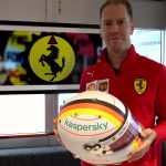 HEL OF A BLOKE F1 star Sebastian Vettel makes classy tribute to Ferrari legend Michael Schumacher with new helmet at Eifel GP