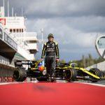 Fernando Alonso makes Renault F1 Team debut