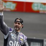 Jimmie Johnson Receives Myers Brothers Award