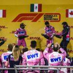 Report: Double podium as Checo wins Sakhir GP!