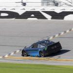 Buescher Tests Next Gen Car On Daytona Oval