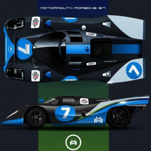 How fricking cool is this? Porsche 917 X MotorMouth…☺️👌💙tmp_IMG_