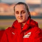 Ferrari history as Maya Weug becomes first female to drive in F1 team's driving academy aged just 16