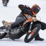 Kallio suffers leg break in ice road racing accident