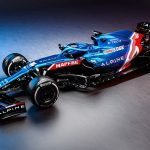 New team Alpine unveil their Formula One challenger for the 2021 season... but returning two-time champion Fernando Alonso is absent from the launch due to Covid travel restrictions between his Switzerland home and the team's Oxfordshire base