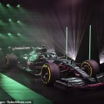 Aston Martin reveals its first Formula One car in over 60 years with striking British racing green livery... and new driver and four-time world champion Sebastian Vettel is targeting wins after joining from Ferrari
