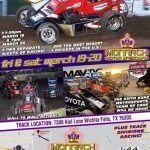 BIG TIME MIDGET RACING is COMING TO MONARCH FRI/SAT March 19-20! The BEST Midget Drivers NATIONWIDE WILL BE HERE! PLUS MMS Divisions Racing!