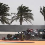 Lewis Hamilton's slippy start to the F1 season! Brit skids into the gravel and causes a red flag in new W12 car as Mercedes' problems continue during 2021 pre-season testing in Bahrain