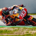 What was Marc Marquez riding and is it similar to MotoGP™?