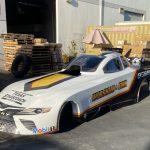 Throwback Funny Car Scheme For Worsham In Texas