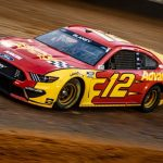 Blaney Tops Final Cup Practice On Bristol Dirt