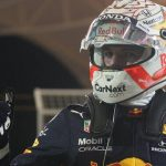 Max Verstappen takes pole position at Bahrain Grand Prix ahead of Lewis Hamilton
