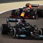 Lewis Hamilton's quest for an eighth world title gets off to the perfect start as he wins F1 season opener after thrilling battle in Bahrain with Max Verstappen... with Brit JUST clinging on
