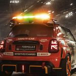 The 'function over form' design of Formula E's new Safety Car: The MINI Electric Pacesetter inspired by JCW