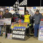 Wesley Smith Claims Night One of the POWRi WAR LOS Non-Wing Nationals
