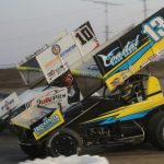 Peck Stops Wise To Win All Star Sprint Opener