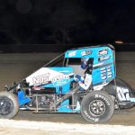Moles Gets First USAC Midget Victory