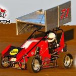 I-35 Speedway Approaches for POWRi Midwest Lightning Sprint Racing