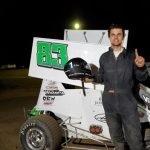 Southwest Lightning Sprints' Parker Dumas Looks to Double Down at Barona Speedway
