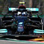 Emilia Romagna Grand Prix: Bottas top as Perez and Ocon crash in first practice