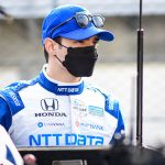 Palou Paces Opening Practice at Barber