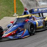 Rossi Leads Wild Second Practice at Barber