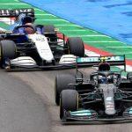 George Russell apologises for Valtteri Bottas crash in Emilia Romagna Grand Prix